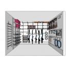 Projekt garażu - wizualizacja