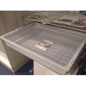 Kosz transparentny+rama 60x45x85 platinum